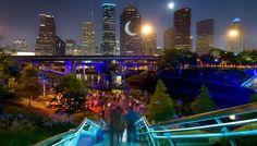Buffalo Bayou Park, Houston, TX