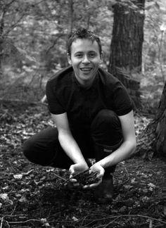Jonny Briggs, Soil Culture artist in residence at White Moose, Barnstaple.