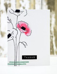 Altenew stempel Painted Poppy