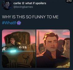 Funny Marvel Memes, Avengers Memes, Marvel Jokes, Marvel Show, Marvel Avengers, Marvel Comics, Loki, Bucky Barnes, Marvel Characters