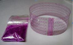 Resin Obsession - How to create a bangle bracelet using transparencies