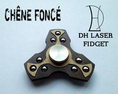 #fidgetspinner #handspinner  Fidget spinner nouveau design  DHLaser Fidget