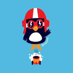 """""""Giocare Circus"""" #illustration #character #clothes #kids #fashion #draw #circus #penguin #natjoan"""