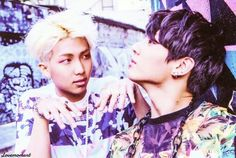 BTS | RAP MONSTER and JUNG KOOK