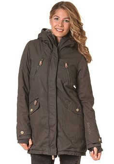BENCH Womens Tara II Jacket raven