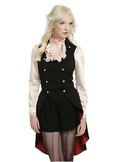 <p>Available 5/17</p>  <p>This vest from the limited edition Hot Topic <i>Alice Through The Looking Glass</i> collection will be the focal point of your outfit. Wear it alone or layer it over a blouse.