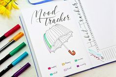 Mood Tracker / Bullet Journal Page