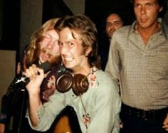"""Wearing """"Gryphon"""" shirt given to him by Eric Clapton during the """"Layla Sessions."""""""