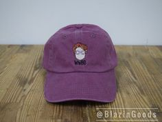 Stranger Things Inspired What Would Barb Do Cap by BlazinGoods