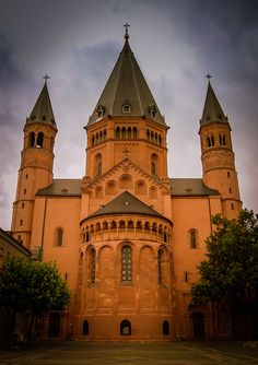Mainz Cathedral - Frankfurt, Germany. (Filming location for 'The Sound of Music')