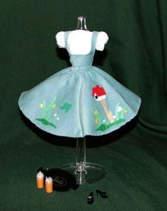 1960 barbie outfit that I had and absolutely loved and want it back!!!!