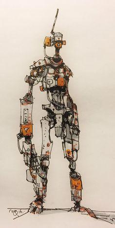 Robotshop Makes Waves In The Canadian Robotics Industry – Viral Gossip Arte Robot, Robot Art, Robot Sketch, Cyberpunk Kunst, Cool Robots, Robots Robots, Robots Drawing, Robots Characters, Robot Design