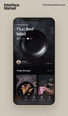 Gfx Design, App Ui Design, Mobile App Design, Interface Design, Restaurant Website Design, Restaurant App, Mobile Ui Patterns, Android App Design, Cooking App