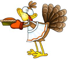 Turkey with pie