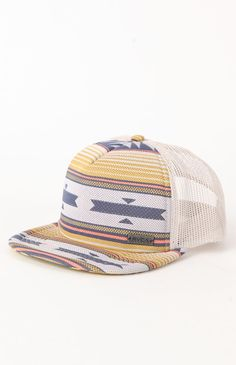 The Right On Trucker Hat makes for the perfect summer accessory. RVCA deliver this trucker hat complete with a striped front detail, mesh back, flat brim, and adjustable snapback closure. Western Hats, Cowboy Hats, Belts For Women, Hats For Men, Dope Hats, Gypsy Jewelry, Snapback Hats, Trucker Hats, Cute Outfits