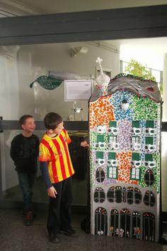 A l'estil de Gaudí. Casa Batlló.