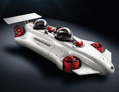 This is the world's easiest to pilot personal submarine that can not only cruise along 400 feet below the surface, but also hover in place for safely exploring shipwrecks, reefs, and underwater species more closely.