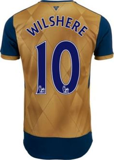 2015/16 Puma Arsenal Jack Wilshere Away Jersey. Get it at www.soccerpro.com today!