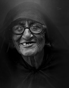 Photograph Grand Old Woman by Harshit Thaker on 500px