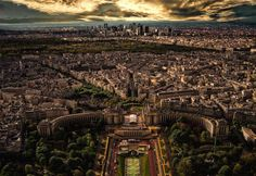 Paris as seen from the Eiffel Tower | Totallycoolpix.com