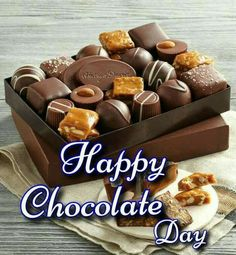 Chocolate Day Images For Whatsapp Valentine Chocolate, Chocolate Box, Chocolate Recipes, Good Morning Images, Happy Chocolate Day Images, Sandra Boynton, World's Best Food, Image Hd, Dog Food Recipes