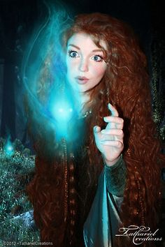 ~Brave Photo Manipulation~I couldn't help myself! ^^I simply HAD to make a wee Merida manip. (After all - My hair has never been this curly! I'm probably the only one who looks like merida! Merida Cosplay, Disney Cosplay, Belle Cosplay, Merida Costume, Disney Costumes, Walt Disney, Disney Love, Disney Magic, Disney Dream