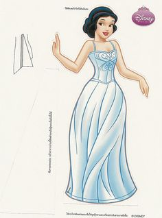 Paper Dolls: Snow White doll 1