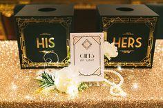 Glamorous Great Gatsby angbao boxes