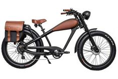 Want to add some functionality to your Cheetah Electric Bike? This heavy duty rear rack can carry up to 55 lbs. Upgrade your Cheetah e-bike and get yours today! Velo Vintage, Vintage Cafe Racer, Vintage Style, Best Electric Bikes, Electric Bicycle, Retro Motorcycle, Motorcycle Design, Motorcycle Tips, Motorcycle Style