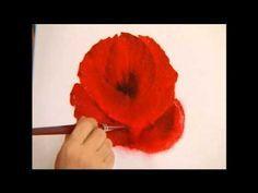 Acrylmalen Malen Lernen Anleitung Zur Mohnblume Acrylic Painting Tutorial Demo Floral Painting Youtube Blumenzeichnung Blumen Gemalde Wie Man Blumen Malt