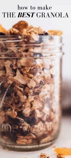Homemade Rustic Granola Recipe - Farmhouse on Boone