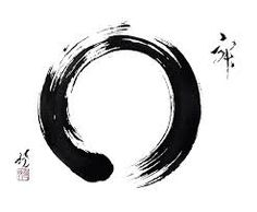 """Enso symbolises enlightenment, strength, elegance as well as an """"expression of the moment"""""""