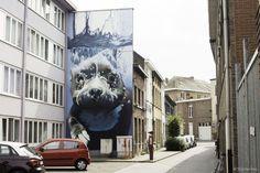 Les superbes oeuvres de street art de Smates   les splendides oeuvres de street art de smates bart smeets 12