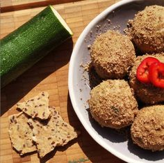 Fűszeres-cukkinis gombóc