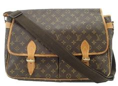 Louis Vuitton Gibeciere Gm Monogram Messenger Bag. Get one of the hottest styles of the season! The Louis Vuitton Gibeciere Gm Monogram Messenger Bag is a top 10 member favorite on Tradesy. Save on yours before they're sold out!