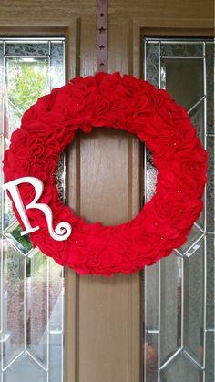 A personal favorite from my Etsy shop https://www.etsy.com/listing/254626204/monogram-wreath-monogram-wreath