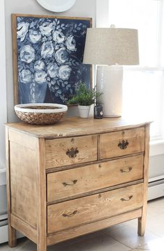 New Antique Dresser in the Kitchen - Rooms For Rent blog