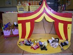 Vingerpoppetjes theater   CIRCUS