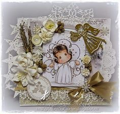 Cards made by Chantal: Another Christmas card in stock!