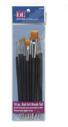 Real Value Brush Set Synthetic Gold Taklon 6pk Products Brush