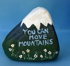 Top Painted Rock Art Ideas With Quotes You Can Do(71)