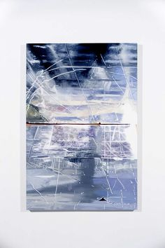 Leslie Parke; Leaning Insulation Boards Cross MacKenzie, DC