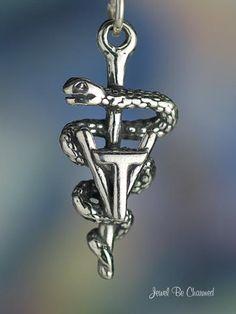 Vet Tech Charm Veterinary Technician Symbol by jewelbecharmed, $12.95
