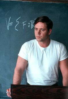 Russell Crowe, not just a beautiful mind:)