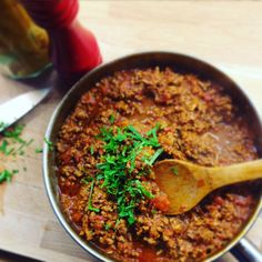 Lamb or beef Ragu Fresh Mint, The Fresh, Best Casual Outfits, Make Ahead Meals, Family Meals, A Food, Food Processor Recipes, Lamb, Paleo