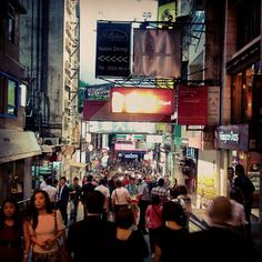 The night is always young at Lan Kwai Fong, a buzzing centre of clubs, bars and restaurants.
