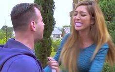 Teen Mom No denying this one, Farrah! In December, RadarOnline.com reported that Abraham, 24, violently shoved Teen Mom OG producer Larry Musnik while filming the current season at her home. Now, M...