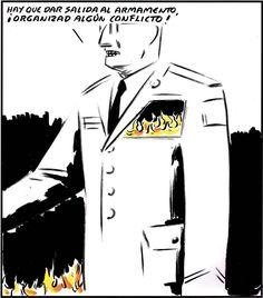 Hay que dar salida al armamento ¡Organizad algún conflicto! (2014-05-07)
