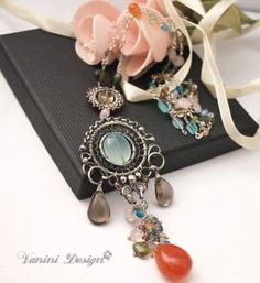 Multigemstones fine999/sterling by vanini, $163.00 #etsy #jewelry