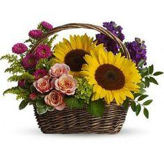 A lovley basket from Rosamungthorns LLC
